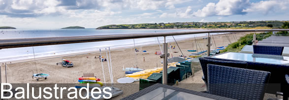 Balustrades - Glass and Steel Balustrades