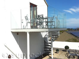 Infinity Glass Balconies from Sunrock Balconies