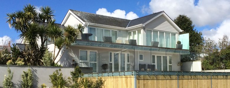 Dream Home Sunrock Infinity Glass Balustrades Abersoch North Wales