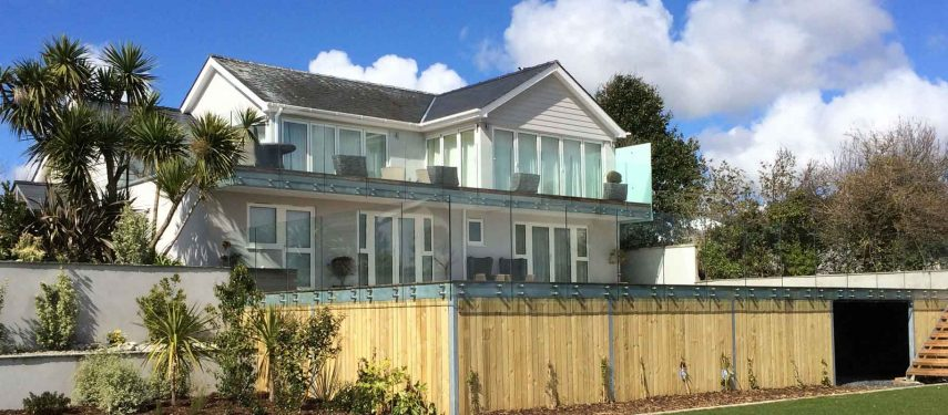 glass balcony increase property value