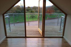 glass steel balcony worcestershire