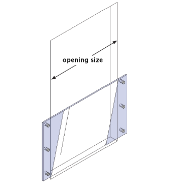 request a quote - How to measure side fix juliet balcony