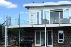 glass steel balcony bognor regis