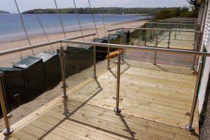 beach hut balconies abersoch