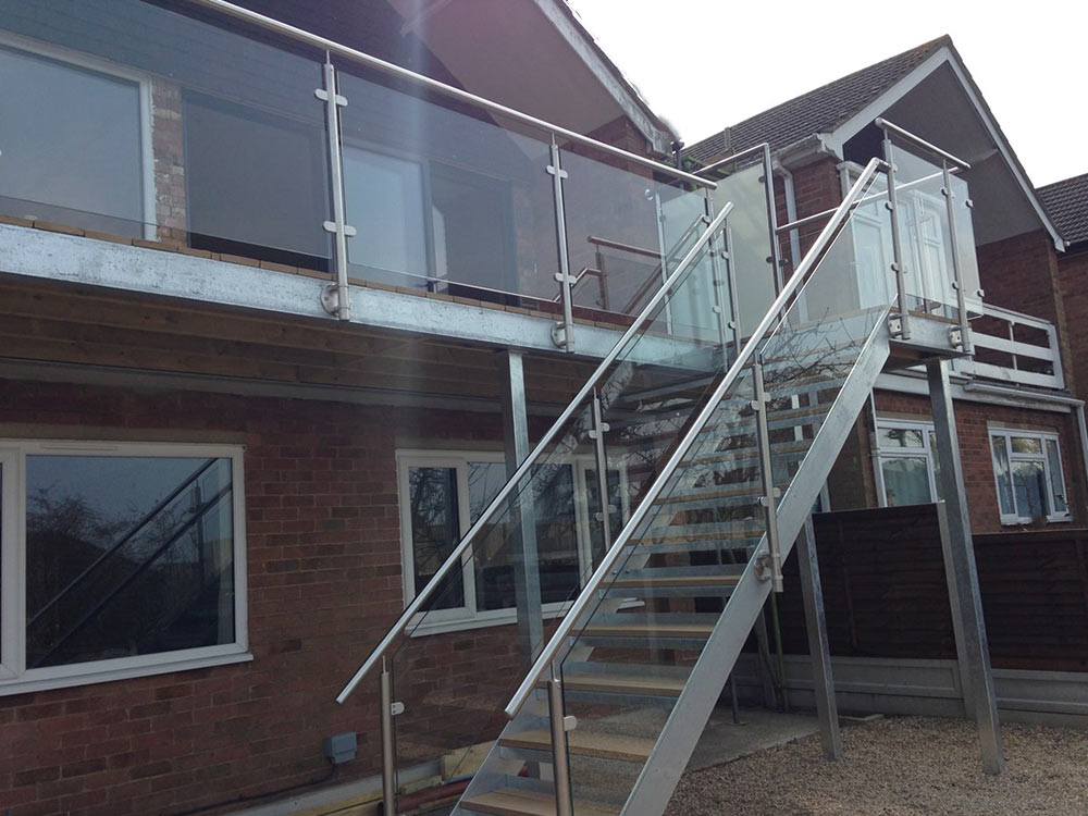 Glass Amp Stainless Steel Balcony Sunrock Balconies