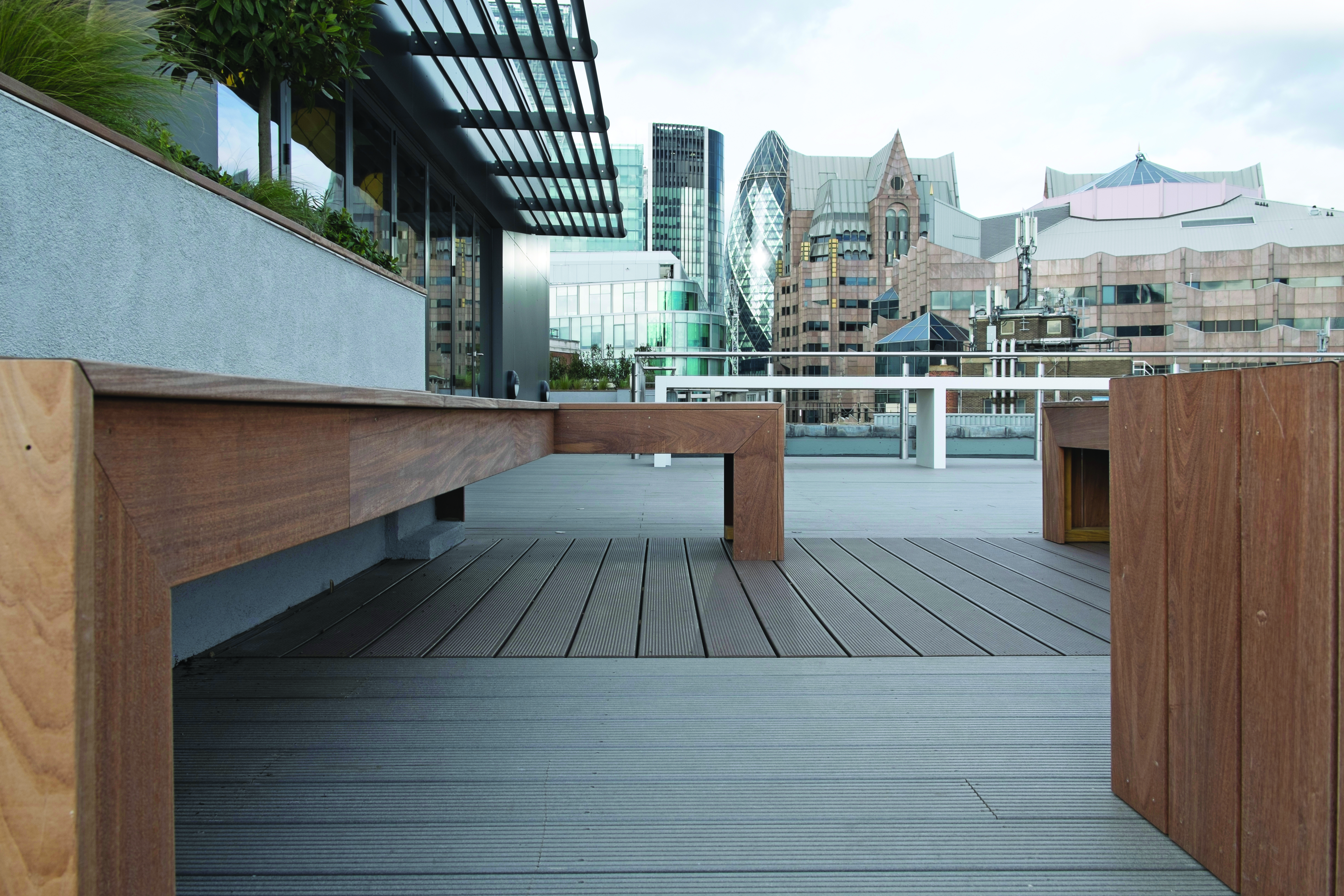 Balcony Decking - Composite decking options - Sunrock Balconies