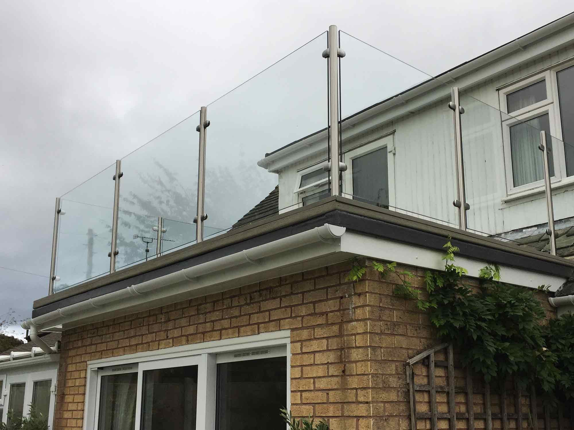 Balcony Company Of Glass Stainless Steel Balustrade From Sunrock Balconies