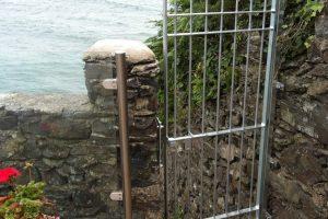 bespoke steel gate