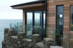 glass steel balustrades headland abersoch