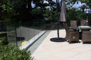 infinity glass balustrades Mere Cheshire