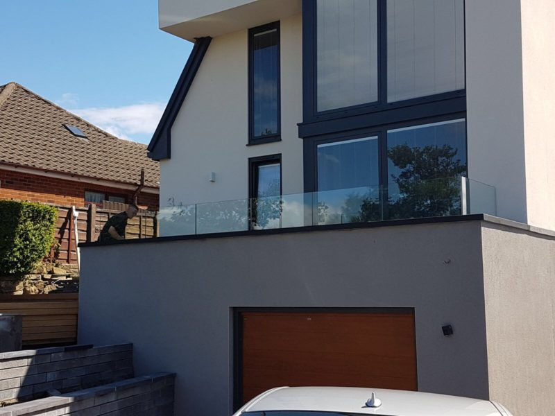 infinity glass balustrade wigan
