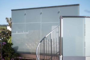privacy glass balustrades