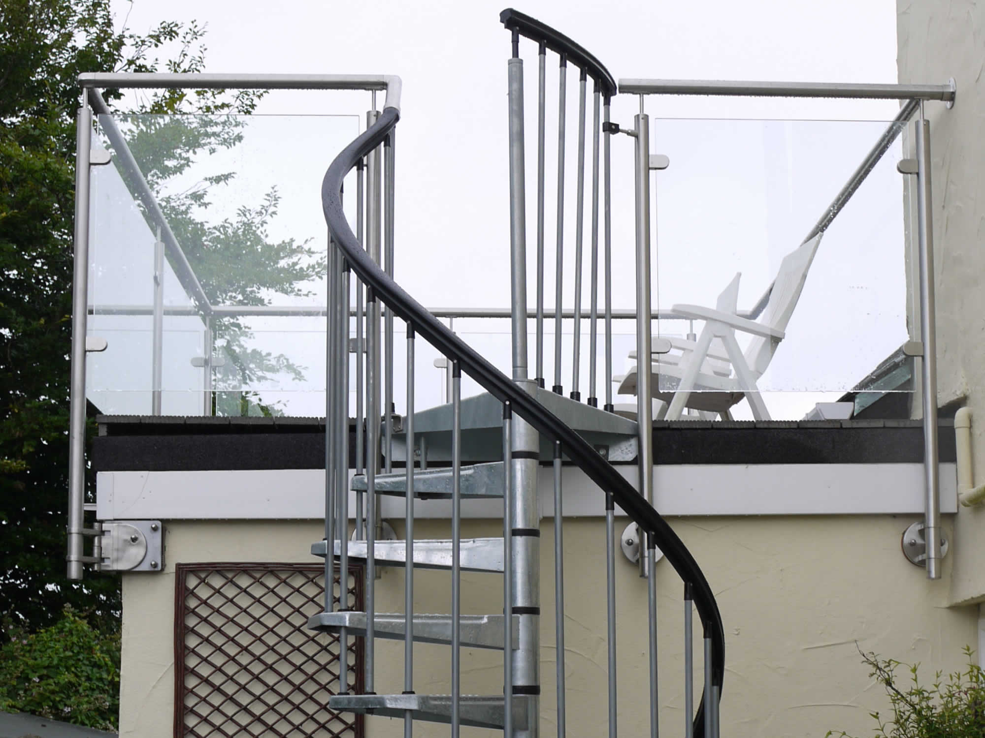 Spiral Staircases For Balconies Sunrock Balconies