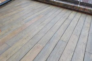 vintage oak weathered millboard decking