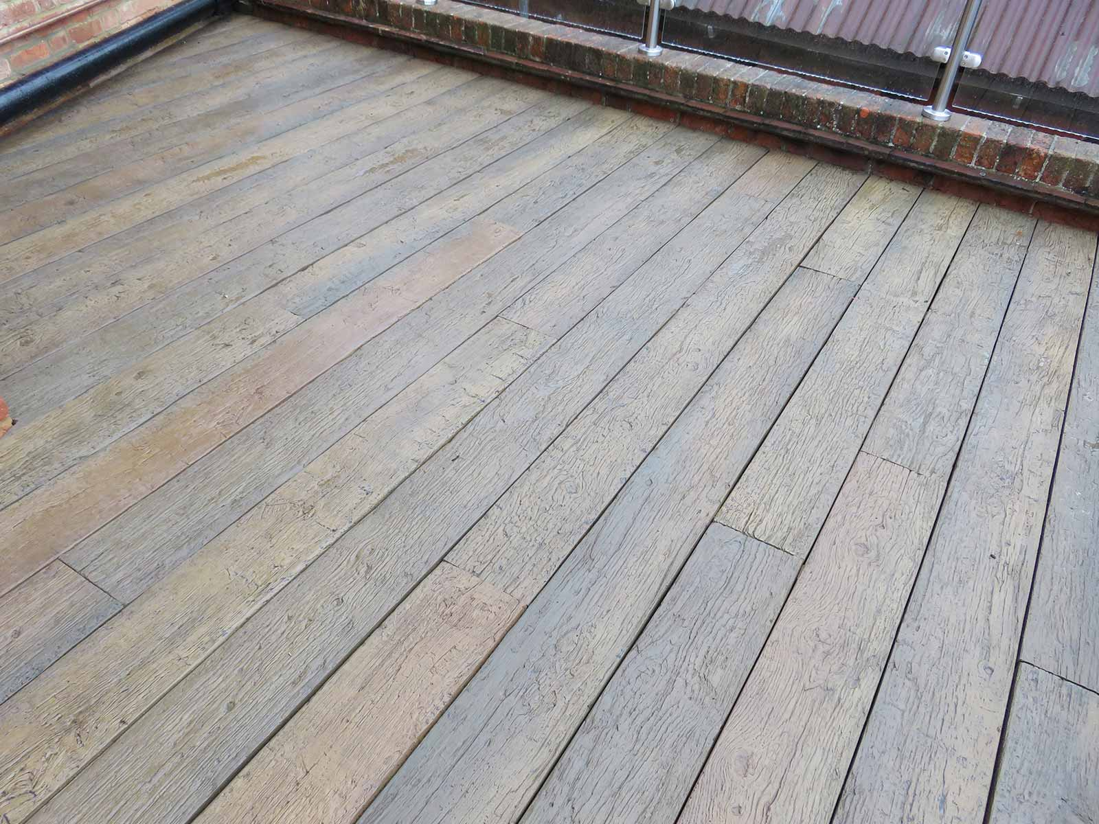 Balcony decking composite decking options sunrock for Balcony decking