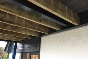 underneath balcony frame lancashire