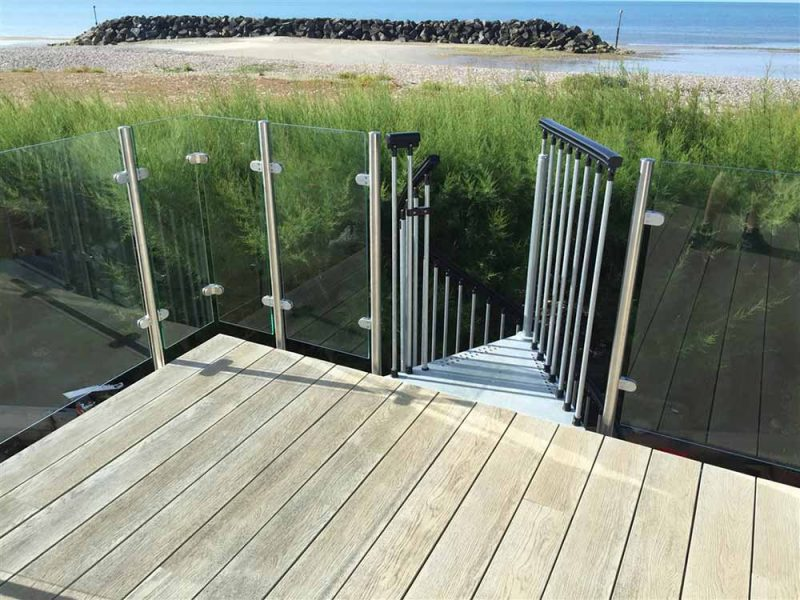Composite balcony decking