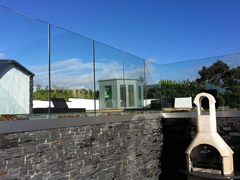 infinity glass balustrades north wales