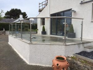 steel and glass balustrades abersoch