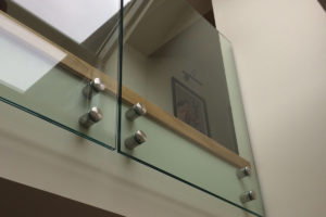 internal infinity glass balustrades