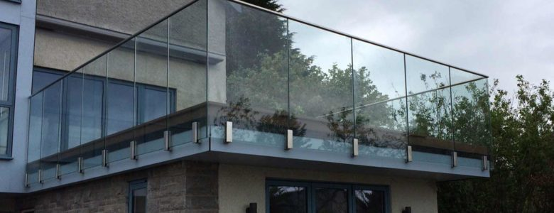 Infinity glass balustrades with new Blok fixing
