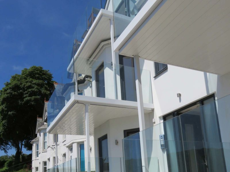 infinity glass balconies cornwall