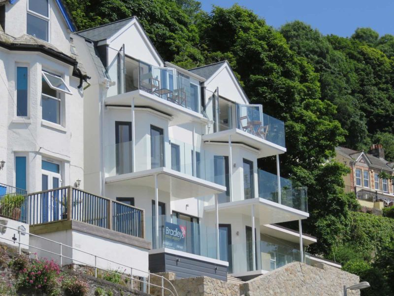 new build balconies looe cornwall