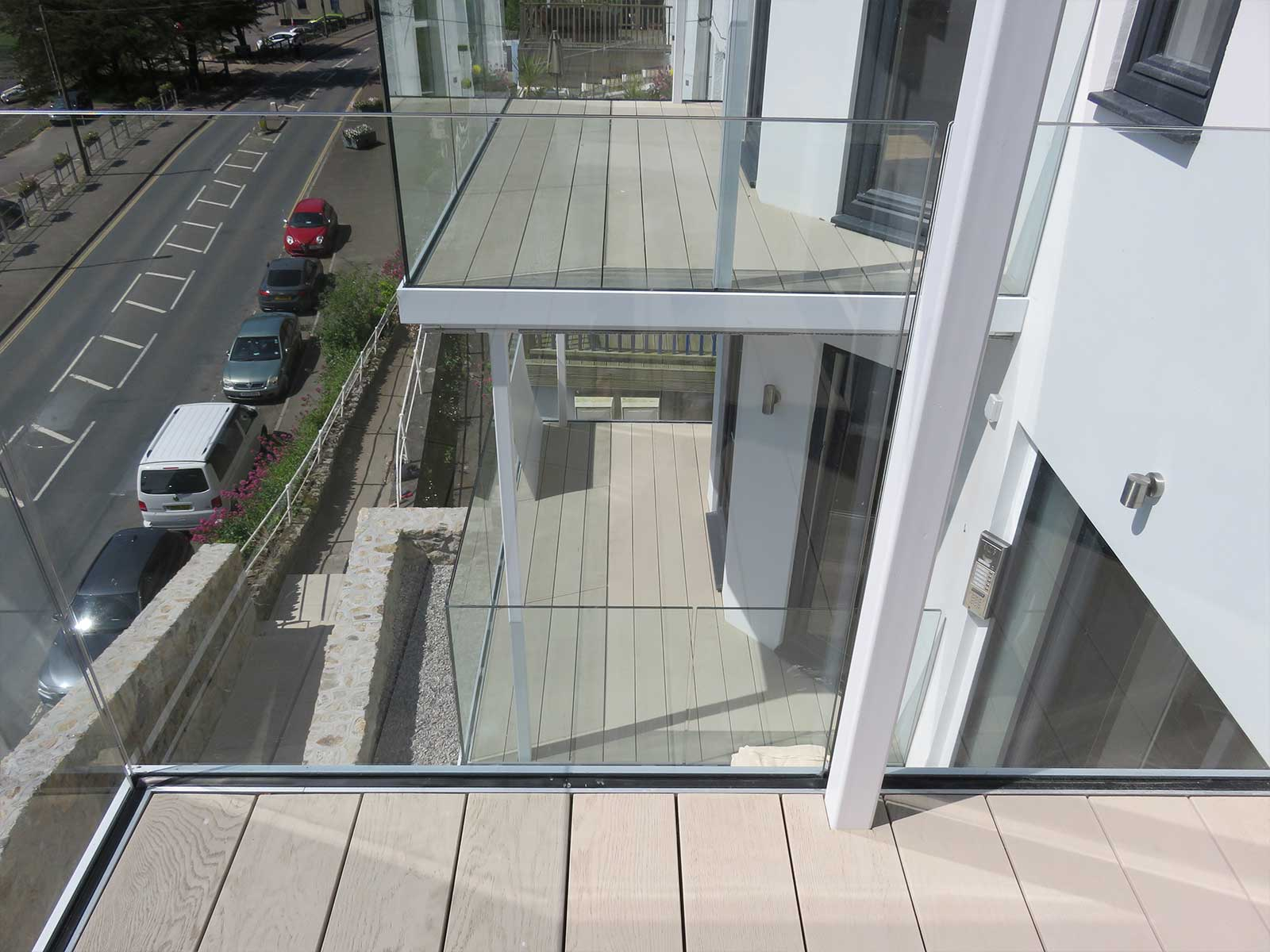 Infinity Glass Balcony Bespoke Glass Balconies By