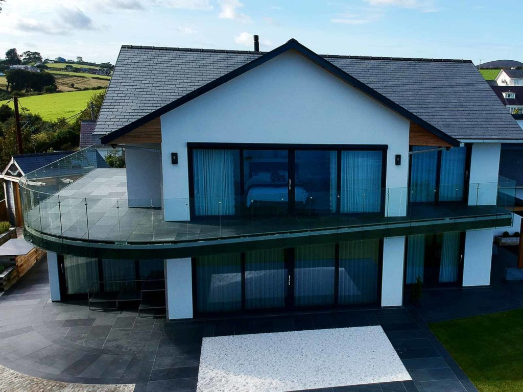 curved glass balustrades abersoch