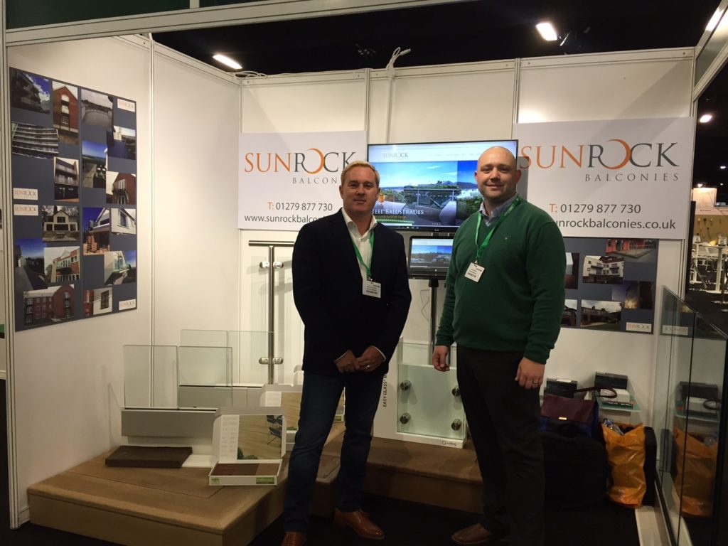 Sunrock Balconies at the landscape show