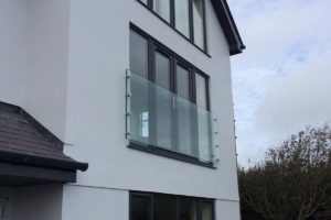 glass juliet balcony abersoch
