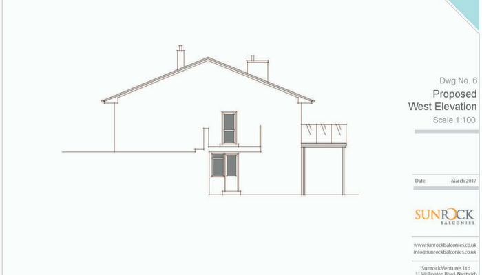 Sunrock Balconies planning drawing