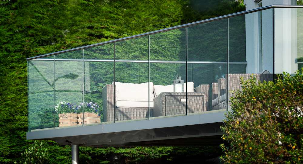 Sunrock Balconies Enhance your garden with glass